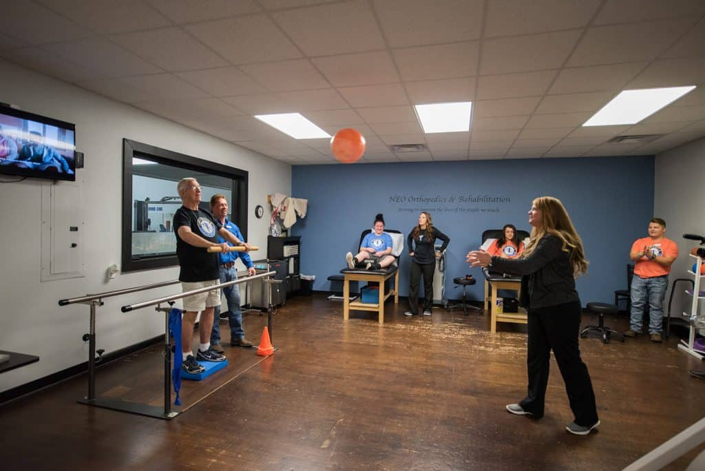 Miami Facility multiple people having Therapy