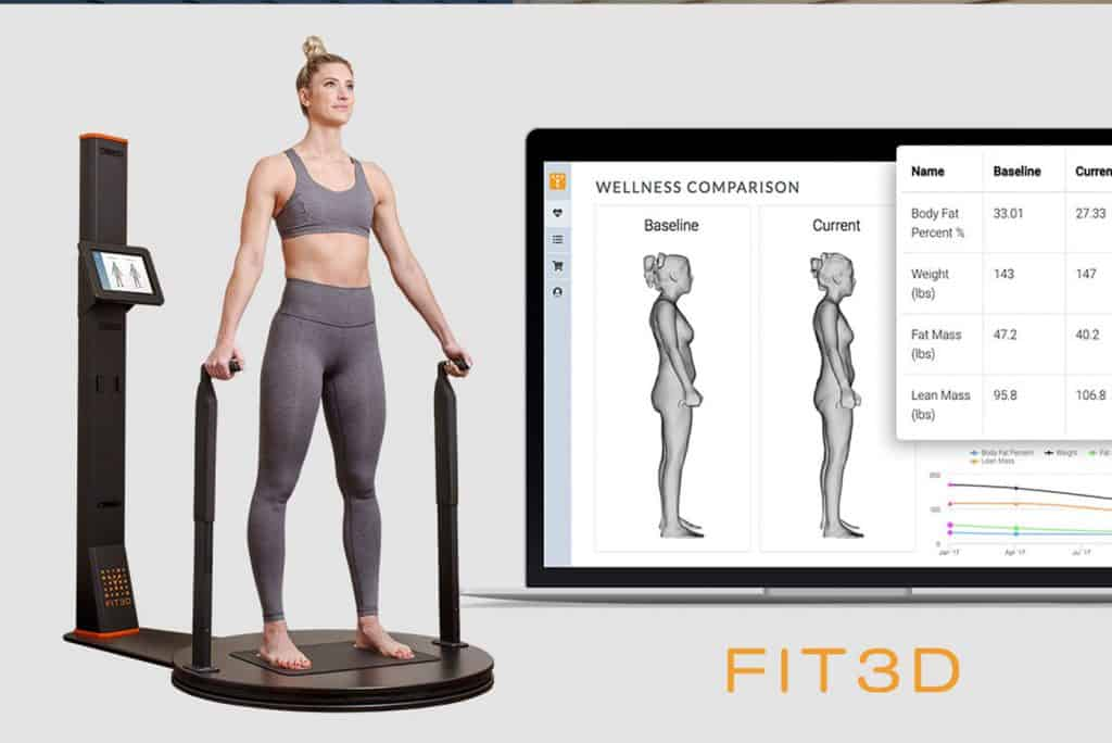 Fit 3d visual